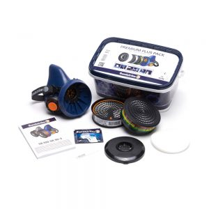Sundström Premium Plus Pack SR 100 set met ABEK1 en P3 filter