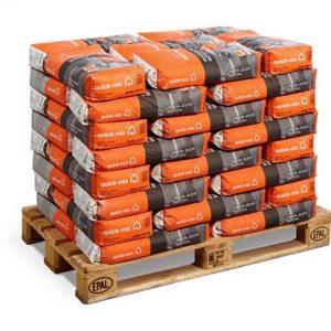Quick-Mix Ruck-Zuck Beton Sneldrogend beton, 25 kg Pallet 48 zakken