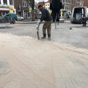 DR+ polymeerzand voor tegels en straatstenen zandgrijs