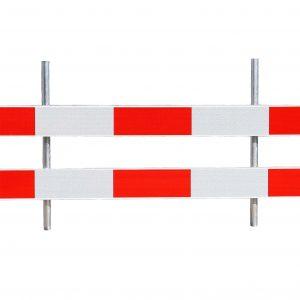 Glasvezel versterkt kunststof Schrikhek 2.50 Meter Buissyteem systeem