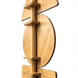 Bamboe flespaal tot 3,90 meter Ø60mm