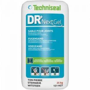 DR+ polymeerzand voor tegels en straatstenen basalt