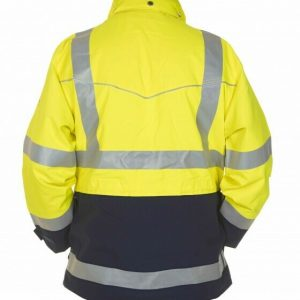 Hydrowear Frankfurt Parka SIMPLY NO SWEAT High Vis Geel/Marine