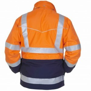Hydrowear Frankfurt Parka SIMPLY NO SWEAT High Vis Oranje/Marine