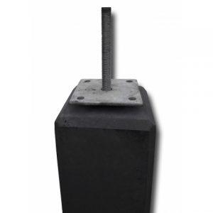 BETONPOER 15X15 CM ANTRACIET – 50 CM HOOG