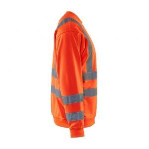 Blåkläder 3341 Sweatshirt High Vis Rood
