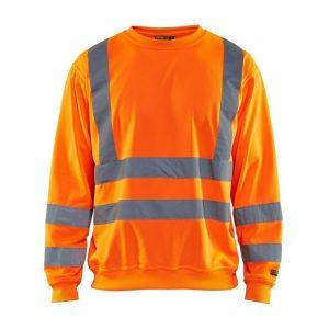 Blåkläder 3341 Sweatshirt High Vis Oranje